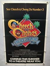 1980 Cheech & Chong's Next Movie Original 1SH Advance Movie Poster 27 x 41