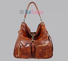Celebrity designer Pocket Shoulder Bag messenger Hobo handbag satchel western