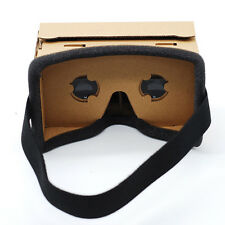Cardboard Quality VR Virtual Reality 3D Glasses For iPhone Google Smartphone US