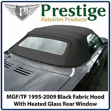 MGF MGTF Car Hood Hoods Soft Top Tops Roof Roofs Black Mohair 1995-2009