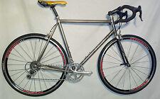 Sampson Titanium Road Bike, Campagnolo Record 10 - 58cm,  Fast Bike & Clean