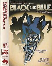 BLACK AND BLUE ORIGINAL BROADWAY CAST MUSICAL REVUE CASSETTE ALBUM