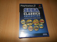 SEGA CLASSICS COLLECTION SONY PLAYSTATION 2 UK VERSIONE PAL NUOVO SIGILLATO