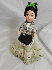 "Celluloid/Hard Plastic Ethnic Doll 9"" Tall"