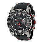 Tissot PRS 516 Extreme Automatic Chronograph Black Dial Black Rubber Mens Watch