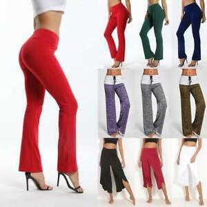 Damen Sporthose Traininghose Fitness Weites YogaHose Freizeithose Haremshosen