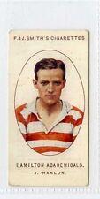 More details for (gw100-447) smith, football club records, #14 j.hanlon, hamilton accies 1922 vg