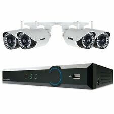 Wireless Security camera Surveillance system 720p HD 4 camera with DVR recorder