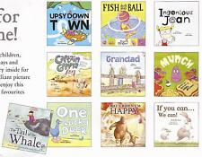 2 books THAT'S WHEN I'M HAPPY, IF YOU CAN WE, JEAN Childrens Picture Story Books