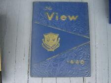 "Vintage 1960 Edmondson High School Yearbook ""The View"" Baltimore Maryland"