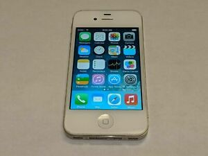 Apple iPhone 4 A1349 16GB Verizon Wireless White Smartphone/Cell Phone *Tested*