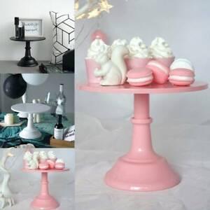 10 Inch Cake Stand Pedestal Dessert Round Holder Wedding Party Birthday Display