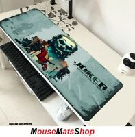 Joker 2019 Extra Large Gaming Mouse Mat Pad Non-Slip f/ PC Office Laptop 80x30cm