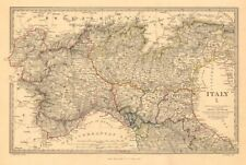 L'ITALIA DEGLI STATI SARDI VENEZIANA Lombardia Parma Modena BOLOGNESE. SDUK 1845 Mappa