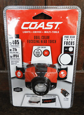 Coast FL75 Dual Colour Focusing Weather Proof Head Torch - BNIB