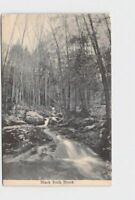 PPC POSTCARD NEW YORK CORNWALL BLACK ROCK BROOK BLACK AND WHITE IMAGE