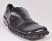 Bardelli Beverly Hills HANDMADE Mens Leather Slip-on Shoes Size 9.5 Black USED