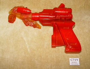 RARE MARVEL FANTASTIC FOUR ROLE PLAY FIGURE SPINNING GUN FROM HUMAN TORCH FIGURE