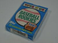1991 Topps Toys R Us Baseball Rookies Baseball Trading Cards Complete Set Sealed