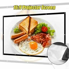 New listing 16:9 Projector Screen 3D Hd Home Theater Wall Matt White Yg620 Projection Porta