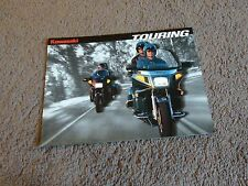 1995 Kawasaki Touring Motorcycle Voyager XII Concours Dealer Sales Brochure