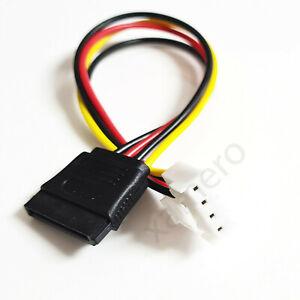 Kabel 4 pin auf SATA Stromkabel Buchse NVR Recorder Hikvision Festplatte 3.96mm