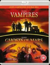 Vampires + Ghosts of Mars New Region B Blu-ray