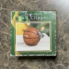 Basketball Shaped Nail Clippers Holder Nickel Steel
