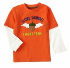 18-24 Months, Gymboree FLIGHT SCHOOL, Flight Team Long Sleeve Tee, NWT