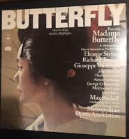 Puccini - Madama Butterfly Highlights - Vinyl LP CBS 30067 UK EX/EX