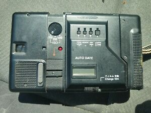 Konica AA-35 dx auto date 35mm Half Frame Point and Shoot Film Camera as is