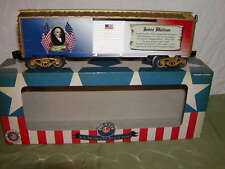 Lionel 6-82945 James Madison Presidential Series Box Car O 027 Made USA 2016 MIB