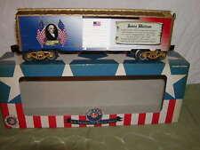 Lionel 6-82945 James Madison Presidential Series Box Car O 027 Made USA 2016 MIB