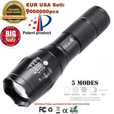 50000lm UltraFire T6 LED Flashlight Torch 5 Modes Zoom Tactical 18650 Lamp Light