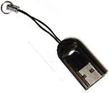 LECTEUR DE CARTE MicroSD vers USB - Noir.
