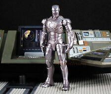 Cake Topper Kaiyodo Capsule Q IRON MAN Mark II 2 Tony Stark Marvel AVENGERS A602