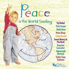 FREE US SHIP. on ANY 2 CDs! ~LikeNew CD Peace Is the World Smiling: Peace Is the