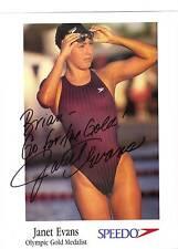 Janet Evans-signed photo-10