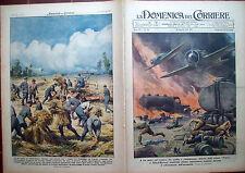 286) 1941 AVIATORI IN MARCIA NEL PADOVANO CHE SI FERMANO A MIETERE IL GRANO