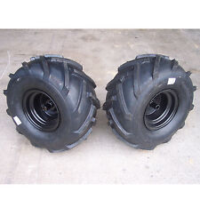 "20x10.00-8 TIREs RIMs WHEELs ASSEMBLY Garden Tractor Riding Mower Blk 3/4"" Shaft"