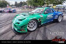 Universal Race Track Front Bumper SPLITTER 169CM fits Mitsubishi VR4 Legnum EVO
