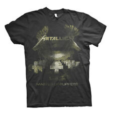 Metallica Master Of Puppets Distressed Black Official Men's T-Shirt