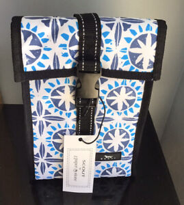 NWT SCOUT Doggie Bag Insulated Lunch Box Soft Cooler Bag In Medallion