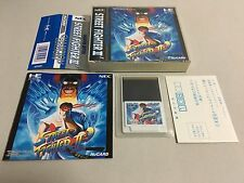 Street Fighter II' Champion Edition NEC PC Engine TurboGrafx-16 HuCard Japan