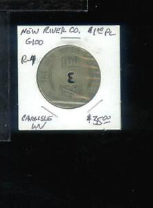 CR) Coal Scrip New River Co 1 Dollar R-9 Carlisle WV