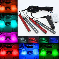 Glow Full Color LED Interior Kit FootWell Floor Seats Inside Light For VW BM
