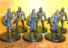 Dungeons & Dragons Miniatures Lot  Axe Soldier Arcanix Guard !!  s108