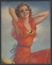 "1920s Summer Days Glamour Girl art deco print 8"" x 10"""