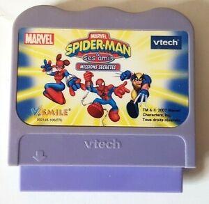 Cartouche Spider-Man & Ses Amis Missions Secrètes - Vtech V.smile