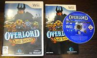Jeu OVERLORD DARK LEGEND pour Nintendo Wii PAL COMPLET (CD OK)